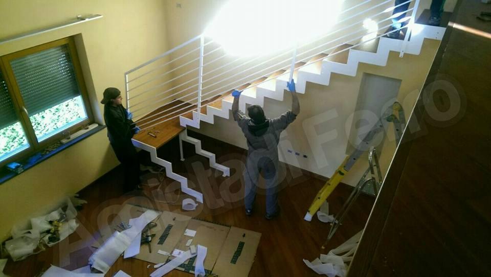 Montaggio scale da interno